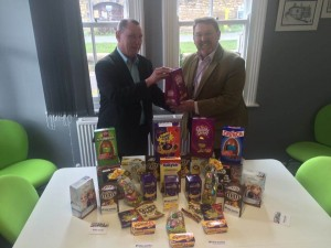 Easter Egg donation from The Works