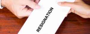 Handing in your resignation the professional way!