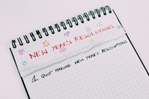 New Year resolutions to make a better you!