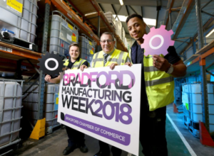 Bradford manufacturers face grilling from local students