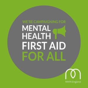 Mental Health First Aid training (MHFA)