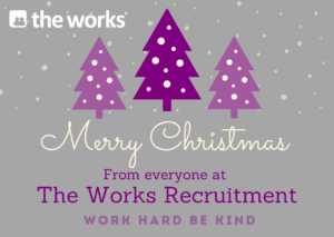 Happy Christmas from all of us at The Works Recruitment 🎅🏼